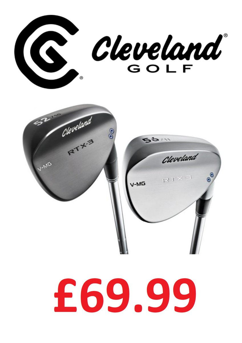 test Twitter Media - @ClevelandGolf RTX Wedge #Offer  The Cleveland Golf RTX-3 Wedge were just £89.99!  But the #deal gets better...  Now just £69.99!!!  Hurry though... Limited stock available. https://t.co/zT0J2Xmpe0