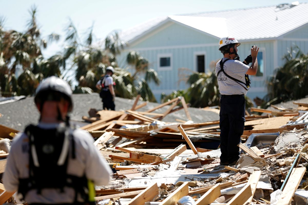 A week after Hurricane Michael, more than a thousand still missing