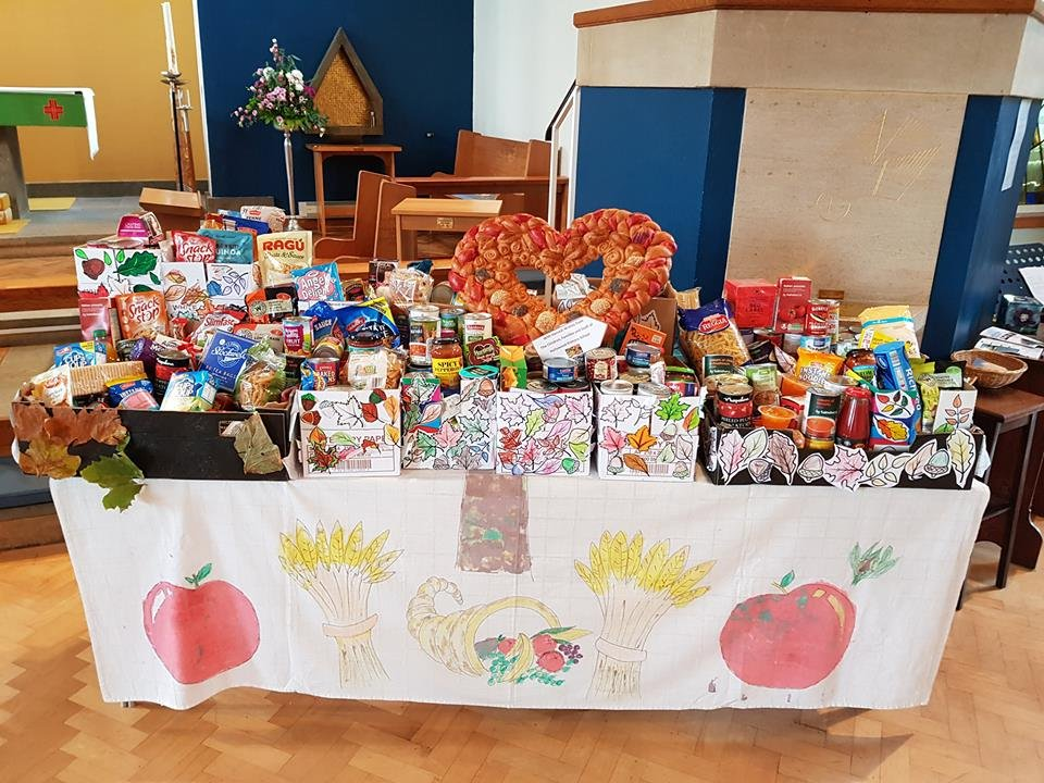 test Twitter Media - What a fantastic amount of Harvest donations! Well done Hollywood! The food donations will be handed over to the foodbank in the next few days. https://t.co/NEsduXN91n