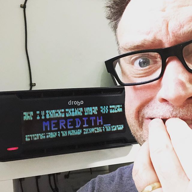 test Twitter Media - Feel bad leaving Meredith so I can geek out with the Med Droids @autodesk technology centre this afternoon...but @drobo support is on the case! https://t.co/eWmrGItCWd https://t.co/2EHFl9bu8m