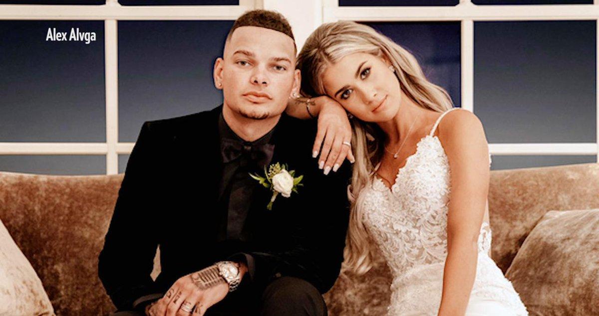 Why Kane Brown's Wife Katelyn Chose a 'Sleek and Simple' Wedding Dress