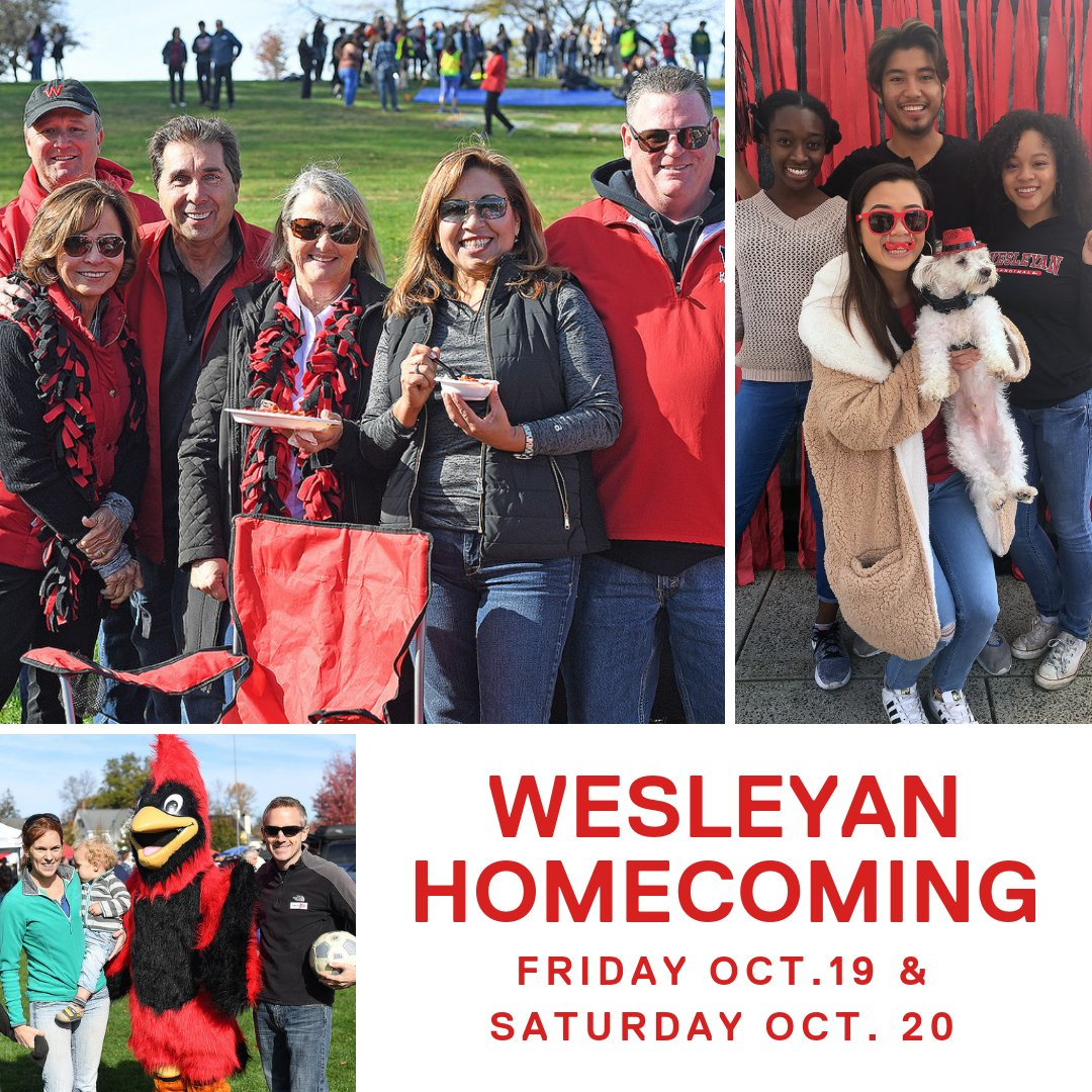 test Twitter Media - Calling all Cards! #Homecoming is this weekend! Come home to Wes to tailgate, catch up with old pals, and cheer on @Wes_Athletics! 🏈  Wear red & black to show off your #CardinalPride 🔴⚫   Details: https://t.co/8wtp2WTrzu #WesHome https://t.co/d3in8htIMJ