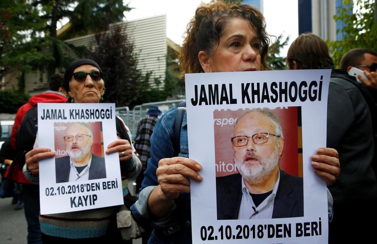 test Twitter Media - What happened to #Saudi journalist #JamalKhashoggi in #Turkey? Was he really murdered & dismembered? Tune in for important statement on how to prevent Saudi whitewash from @hrw @pressfreedom @amnesty & @RSF_inter Thursday 11 am EDT. Live press conference: https://t.co/ApWcQiB3FS https://t.co/1Zwxf42kjb