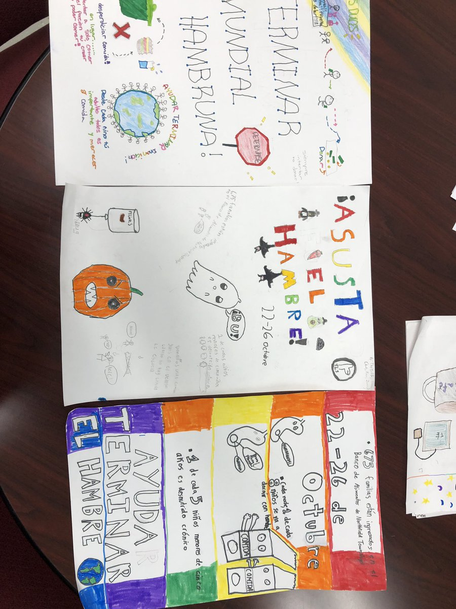 test Twitter Media - Food drive posters from @wescott5B are ready to be hung. Love using our Spanish to participate in our school community and show how we #choosekind #earlylang #langchat #d30learns https://t.co/TBul9rfYPT