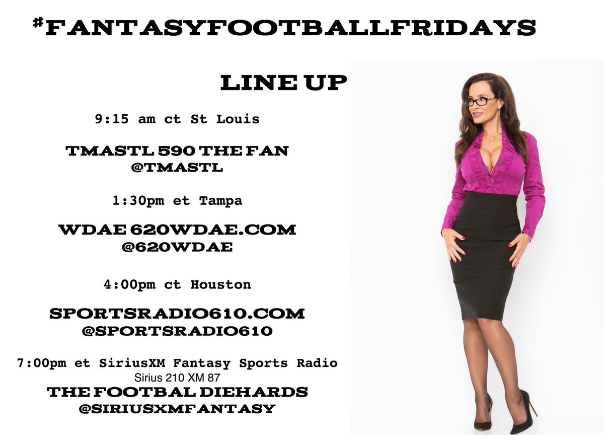I spend my Friday's wisely.... sharing my start / sit advice you can follow along here! #FantasyFootballFridays