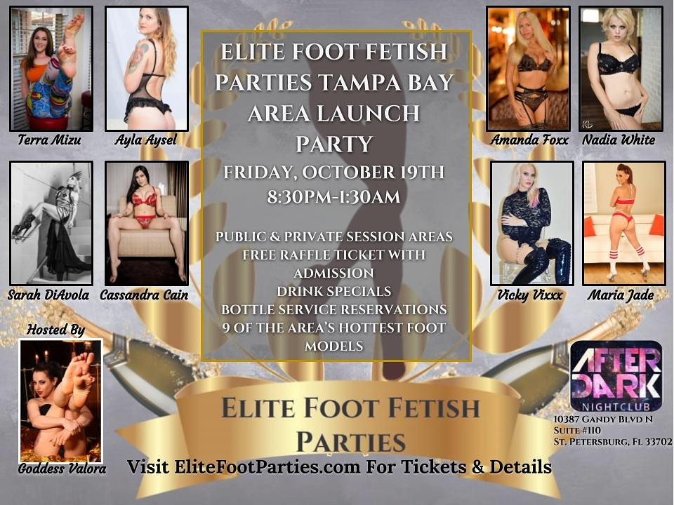 This Friday! Do NOT pass up a chance to get up close and personal with these gorgeous ladies at