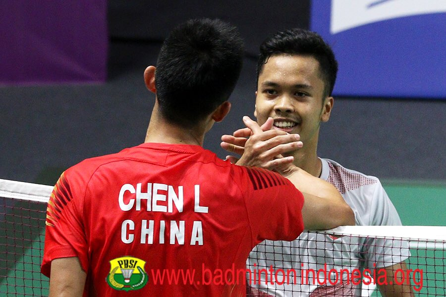 RT @aabadmintonpics: Ginting with his rivals on court. 😁  Mana favorit kalian?🤗 https://t.co/O77nqlKP9s