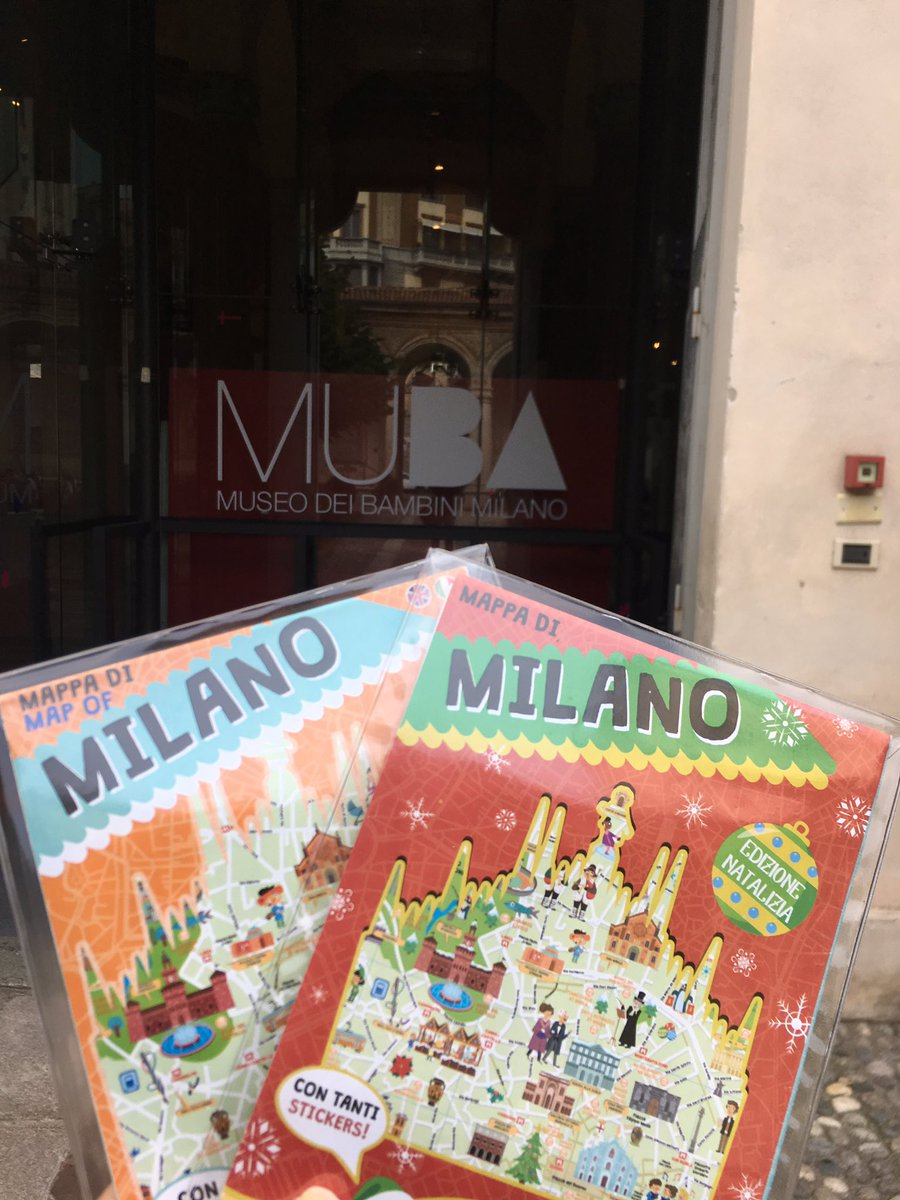 test Twitter Media - Mancano 67 giorni a #Natale. Noi abbiamo rifornito il bookshop del @MUBA_Milano delle mappe di #Milano, anche quella in versione natalizia. Casomai voleste regalare a giovani esploratori doni utili, divertenti, colorati e pieni di adesivi ☺️ https://t.co/OPM7KDvMG6