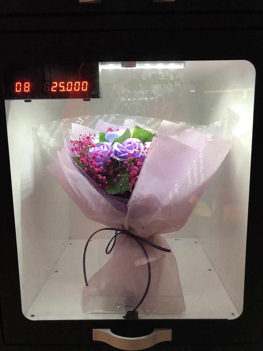 RT @tinapperez: Sa Korea, may vendo machines ng bouquets. Sagot ko na ang isa para sa #ALDUB170thWeeksary. https://t.co/Lu9IDJUrYg