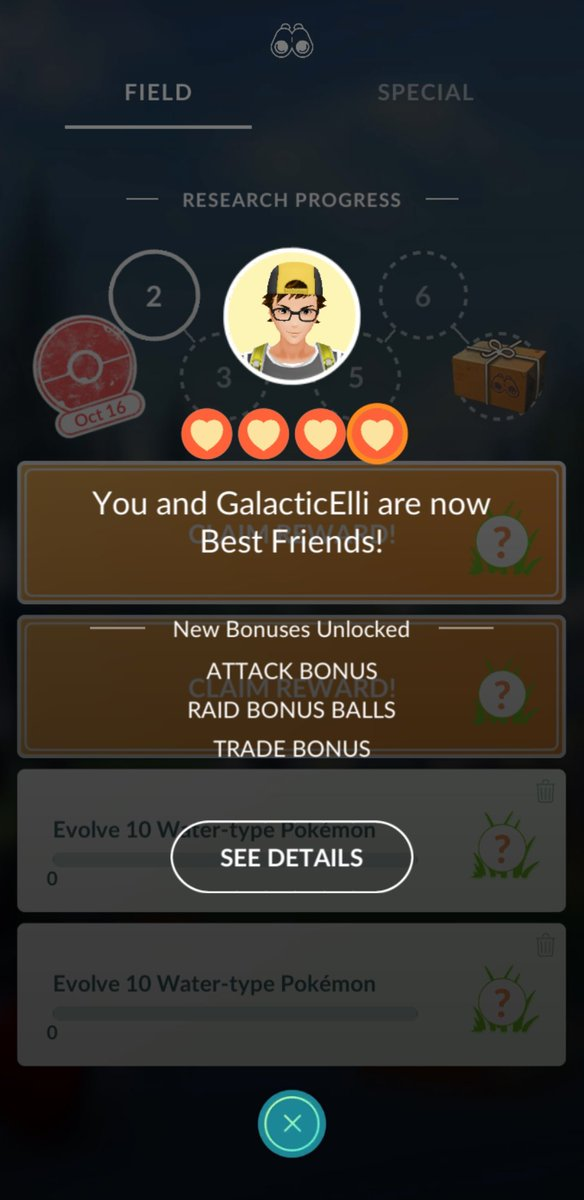 I look forward to helping @GalacticElliot with the +4 Raid Ball Bonus at TwitchCon. 🎁 https://t.co/qcFR8BQcAv