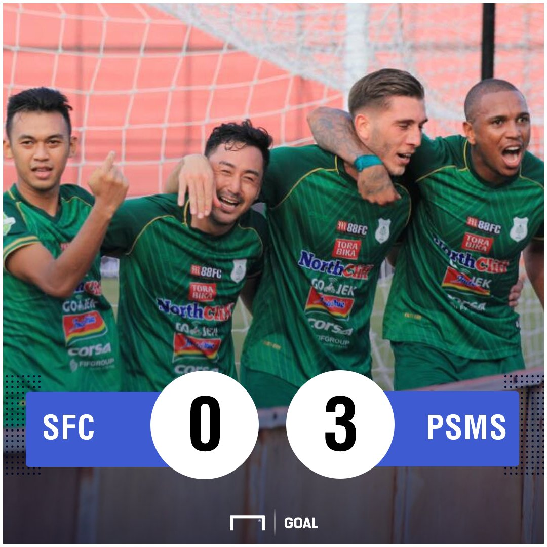RT @GOAL_ID: FT: #SriwijayaFC 0-3 #PSMS  LIVE Commentary: https://t.co/9UYse41Hb0  #MatchdayGoal #Liga1 https://t.co/oLRVrIyffJ