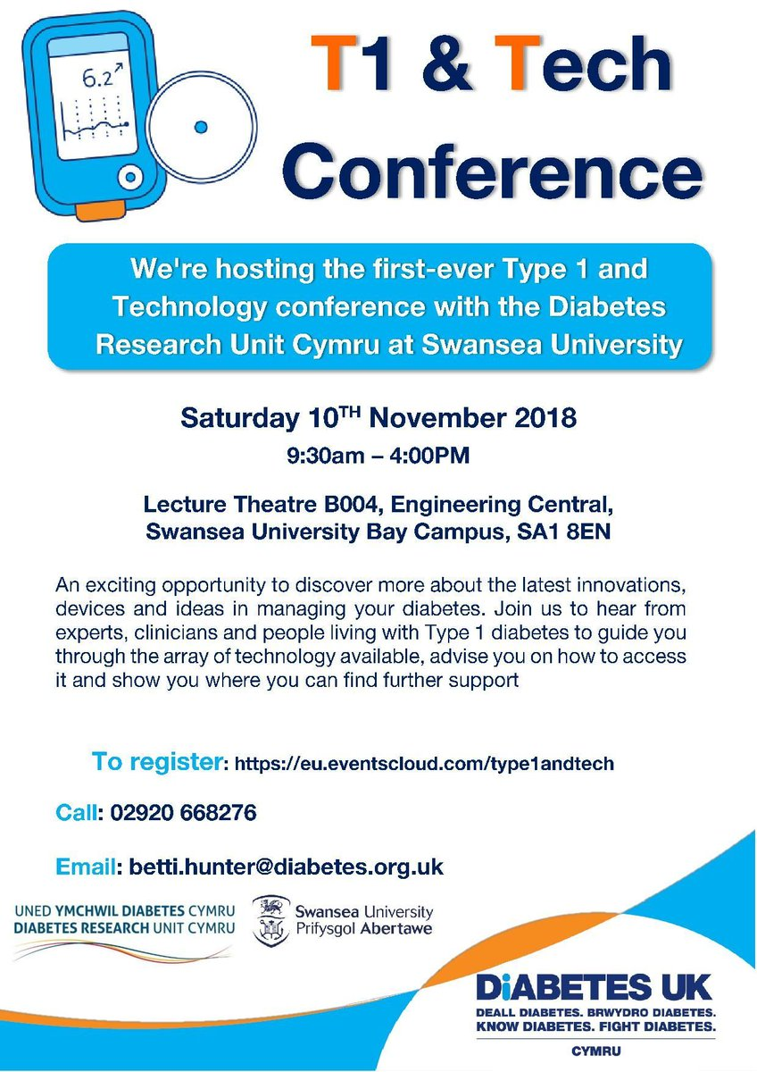 test Twitter Media - Have you signed up to the #Type1andtech conference yet? Learn about the newest developments in #Type1 management and support from international experts and clinicians and meet others who are living with Type 1 in Wales. Book your free place here:  https://t.co/J5RlE8gSGA https://t.co/3w6s9sp4Ox
