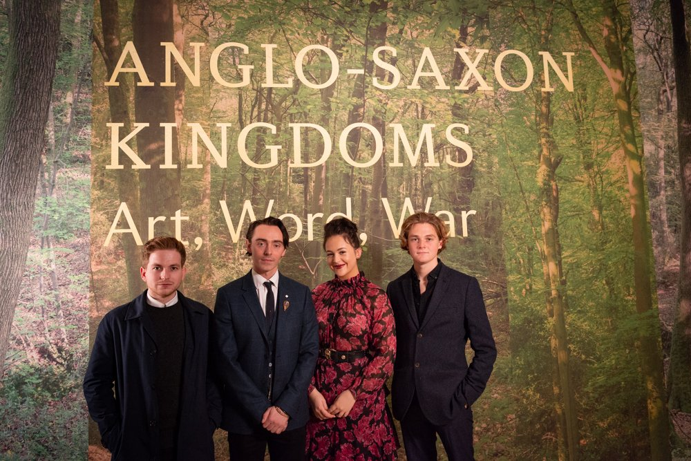 test Twitter Media - How do you make a blockbuster exhibition even more blockbuster? Add the cast of @NetflixUK series @TheLastKingdom of course! Thrilled that King Alfred and his 'royal family' are here for our opening night of Anglo-Saxon Kingdoms. Got your ticket yet? #BLAngloSaxons https://t.co/ZCq1Su5Py2