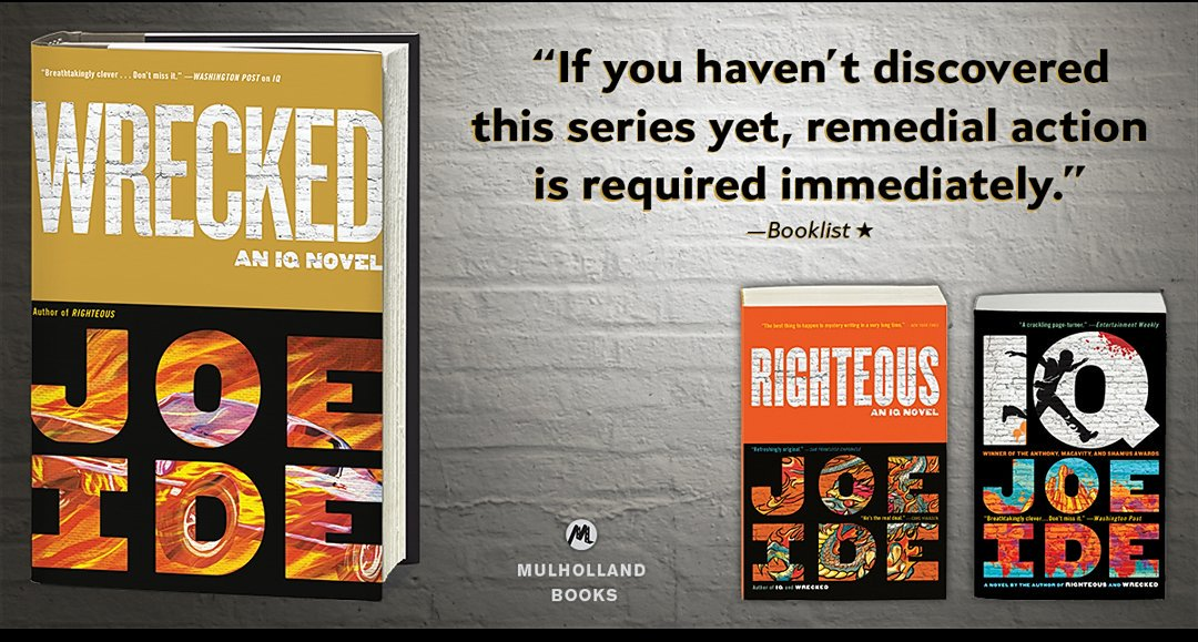 Booklist on Wrecked.... https://t.co/RGhClPDpUY