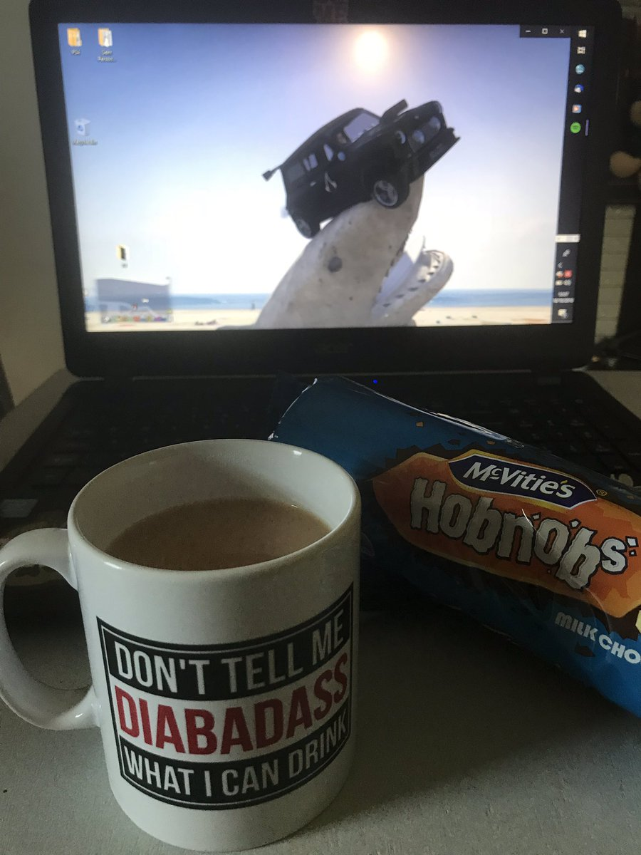 test Twitter Media - @DiabeticDadUK  Thanks 4the awesome mug and I promise I didn't eat all the hob nobs!.yum yum.  Time 4 a brew in this bad boy mug 👌😎.  Don't be jealous peeps you can buy one via diabetic dad so we can all have a brew together 👍🏻 #diabadass #type1 #diabetic #cuppa #brew #coffee https://t.co/r5fqbAKqRa