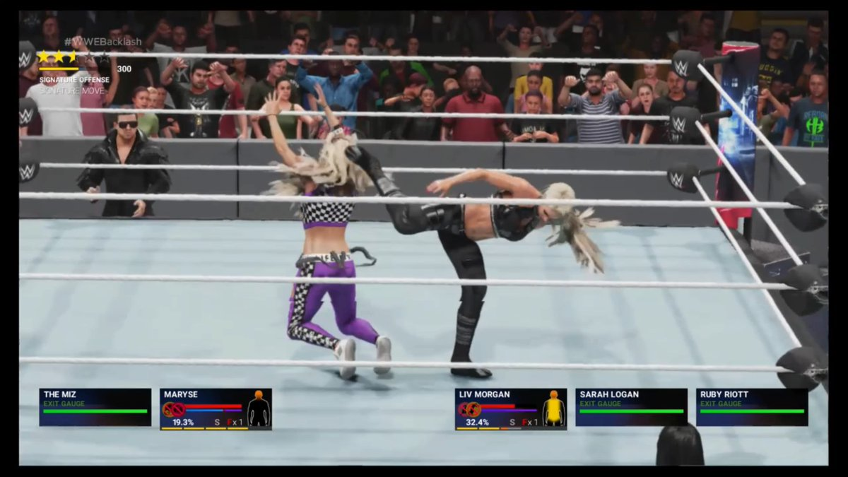 Ruby's distraction costs Maryse as Liv Morgan picks up the win #PS4share https://t.co/xTTZXeSpA2