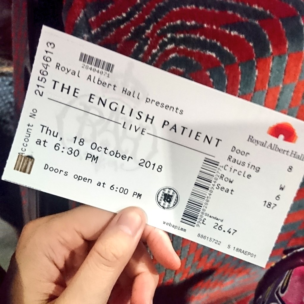 test Twitter Media - Tonight is about more #RalphFiennes. #TheEnglishPatientLive @RoyalAlbertHall https://t.co/FVbqDK0yPs