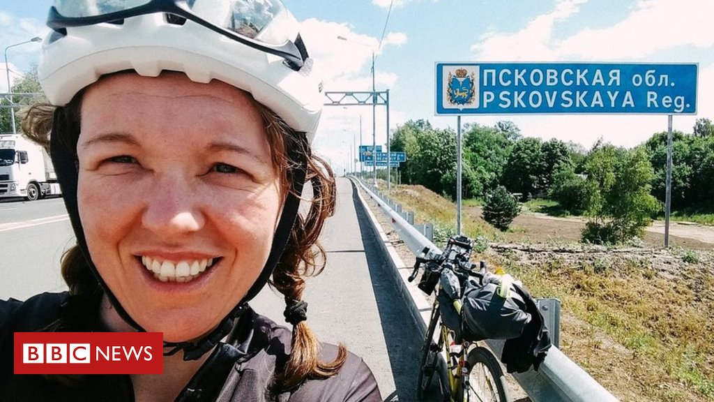 test Twitter Media - Inverness woman Jenny Graham breaks record for cycling around the world 👏👏👏 https://t.co/CQIMR3RcDc https://t.co/glhRdNoZk6