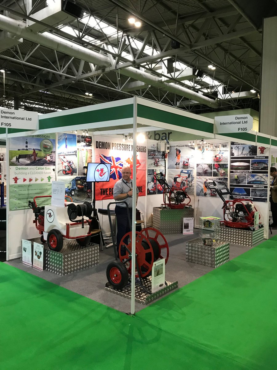test Twitter Media - Saltex 2018 is OPEN! Demon are exhibiting our latest range at Stand F105! Come and see us!  #saltex @IOG_SALTEX #pressurewashers #demon #demonpressurewashers #cleaning https://t.co/3w1lTX5FDT