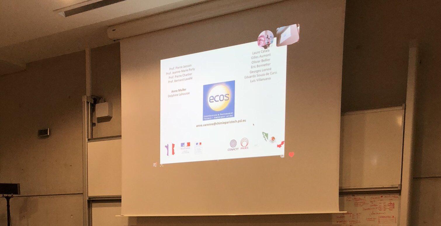 @mexfitec2018 Recherche et l'innovation #MEXFITEC, participation de M. Cocquempot (Directeur de la transformation numérique - ALL Circuits) M. Tepox (représentant @RGMXEuropa) et Mme. Varenne (présidente #Ecos-Nord ) par M. Laborderie, Directeur de l'école d'ingenieurs #ISABTP https://t.co/GP2d1BnIMD