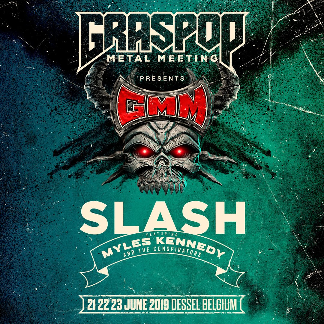 Slash ft. Myles Kennedy & The Conspirators are playing at @GraspopMetal taking place June 21st - 23rd. #slashnews https://t.co/bqPbQDtXdE
