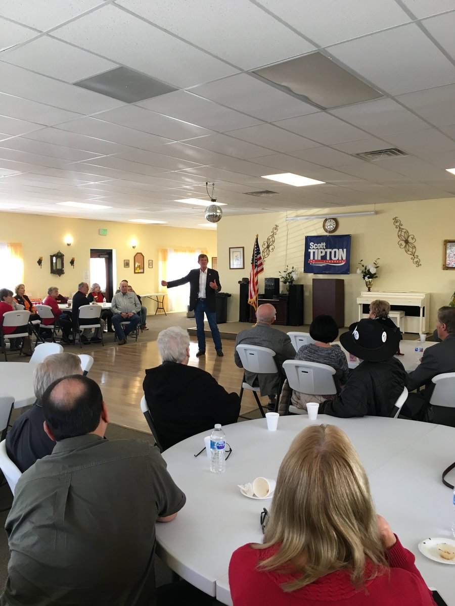 Always a great time being in Pueblo and thank you to everyone who came. I had a wonderful time meeting with supporters and friends. It's too late to mail your ballots, so please turn them in yourself at your nearest voting location. #copolitics