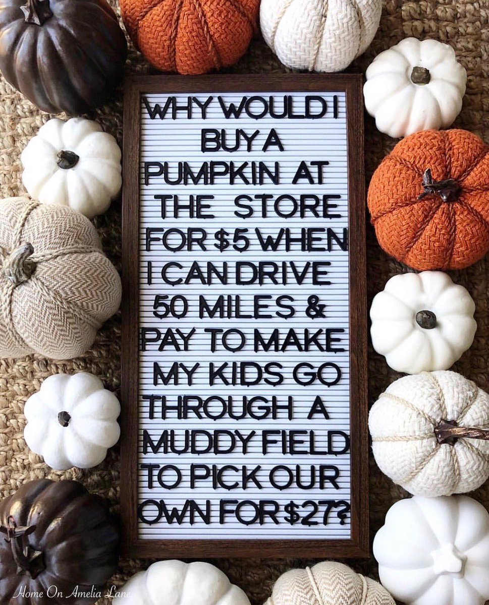 Off to the Pumpkin patch! ???? https://t.co/6XIbSngoci