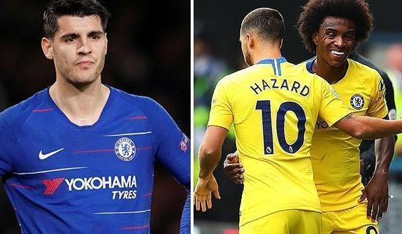 RT @TheSunFootball: 'The reason' why Hazard and Willian do not pass to Morata https://t.co/Hxyj331Zn8 https://t.co/8HRCmwEjER