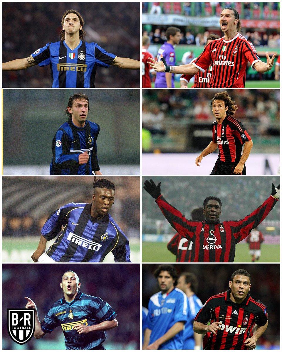 RT @futtmais: Ibrahimovic, Pirlo, Seedorf, Ronaldo... HOJE TEM DERBY DE MILÃO! 🔥 https://t.co/W4LxG8VSrl