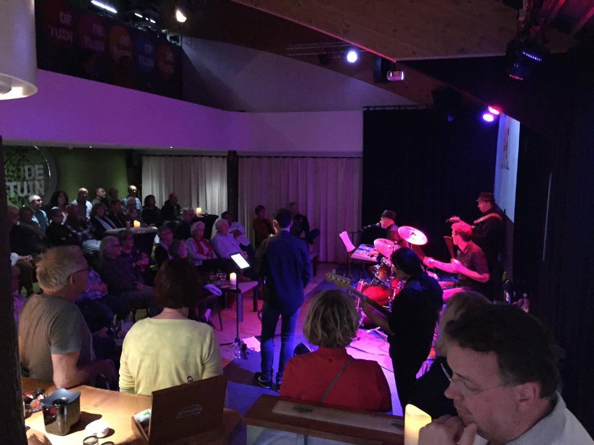 test Twitter Media - Weer volle bak bij BBB Blues @Bloemendal_Bouw Bitterballen in theater @theaterdetuin te #Leusden https://t.co/kDkzu01PjZ