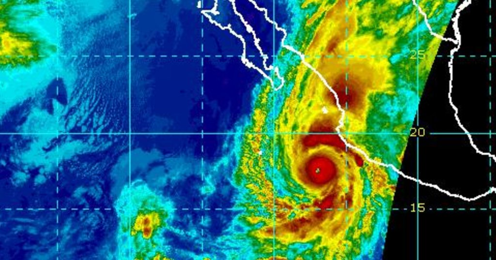 Hurricane Willa on verge of becoming Category 5 storm off Mexico's Pacific coast