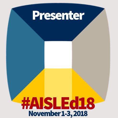test Twitter Media - Looking forward to presenting at the #AISLEd18 conference next week with @AnnaDavisTIS on how we collaborate with teachers to teach research and how we integrate technology for students' final projects! Come see us on Friday Nov 2nd at 3:15! #d30learns https://t.co/T5zJMI8jdP