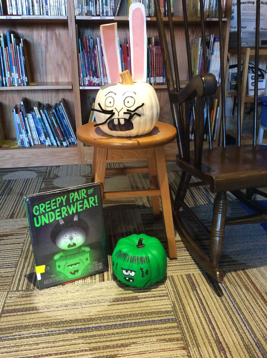test Twitter Media - Thanks @Sislow3S for making a Creepy Pair of Underwear pumpkin to go with our Jasper rabbit!  #d30learns #d30reads #bookcharacterpumpkin https://t.co/KjGM86KDXR