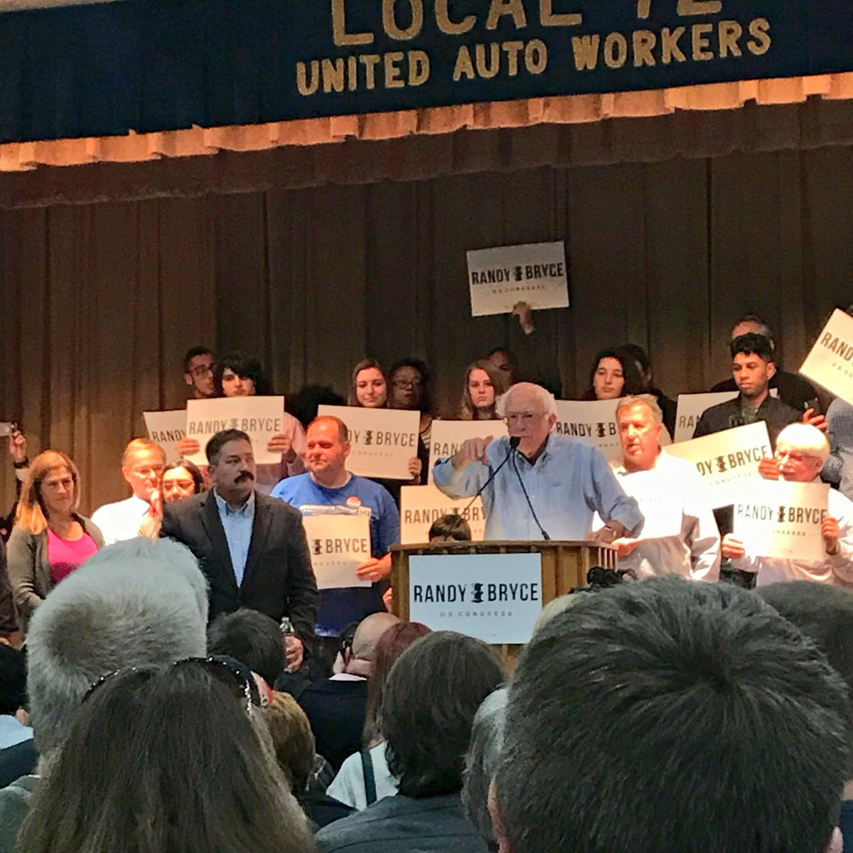 .@SenSanders wants YOU to go or and vote for @IronStache! #WI01 #Ironstache https://t.co/96VTY6OiOW
