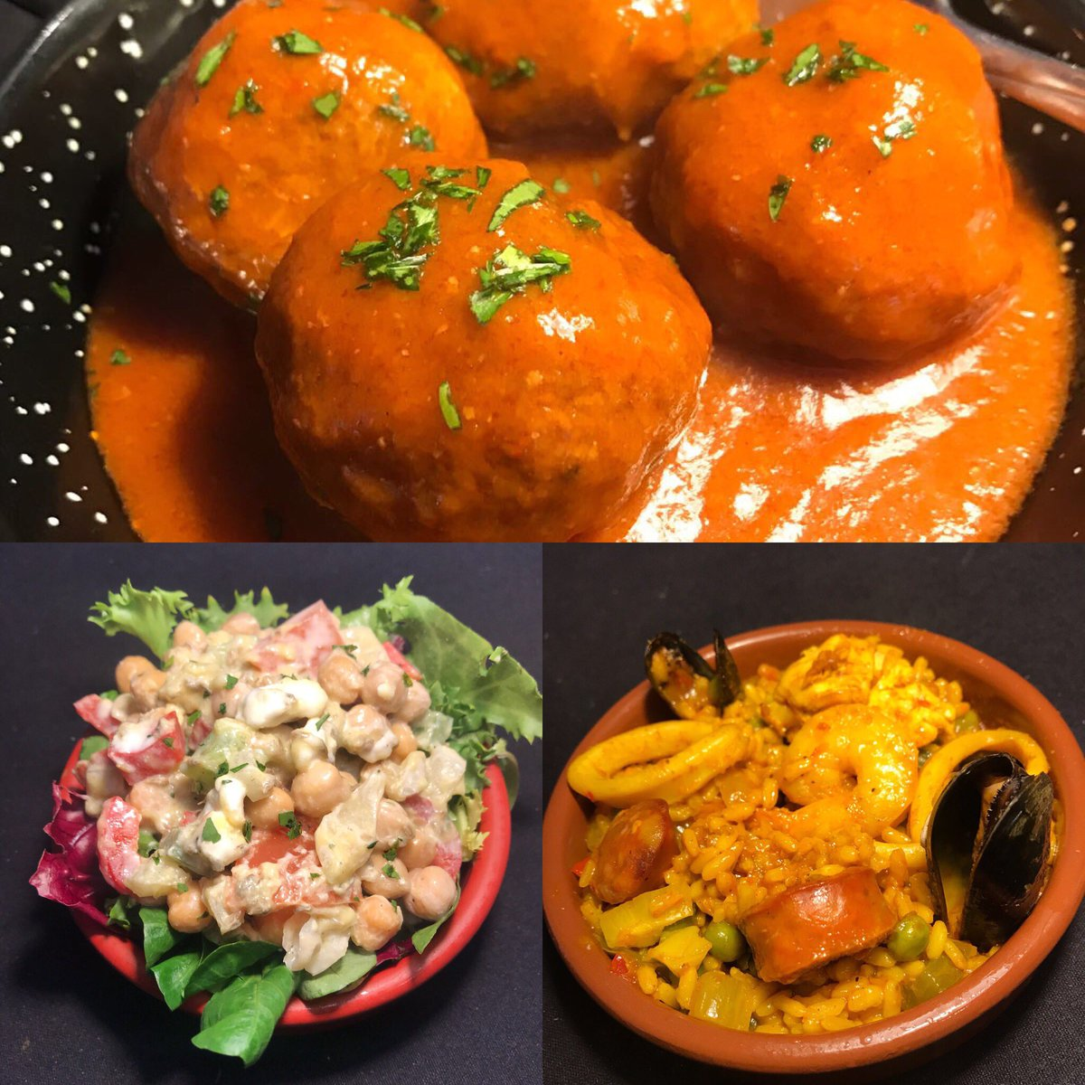 test Twitter Media - Our special lunchtime offer is back! Choose 3 tapas dishes for £12 or 2 for £9 - includes bread & alioli.  Available Tues to Fri 12pm to 3pm. Come & treat the family this half term. (Excludes sharing board).  #halfterm #tapas #folkestone  @CQ_folkestone #hythe @folkestoneOHS https://t.co/QPONm4vcdc