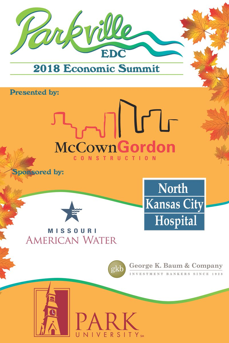 test Twitter Media - Thank you to all of our sponsors for making our 2018 Fall Economic Summit a success! @McCownGordon @NKCHospital @moamwater @ParkUniversity and George K. Baum & Company https://t.co/EEcI4NhYuE