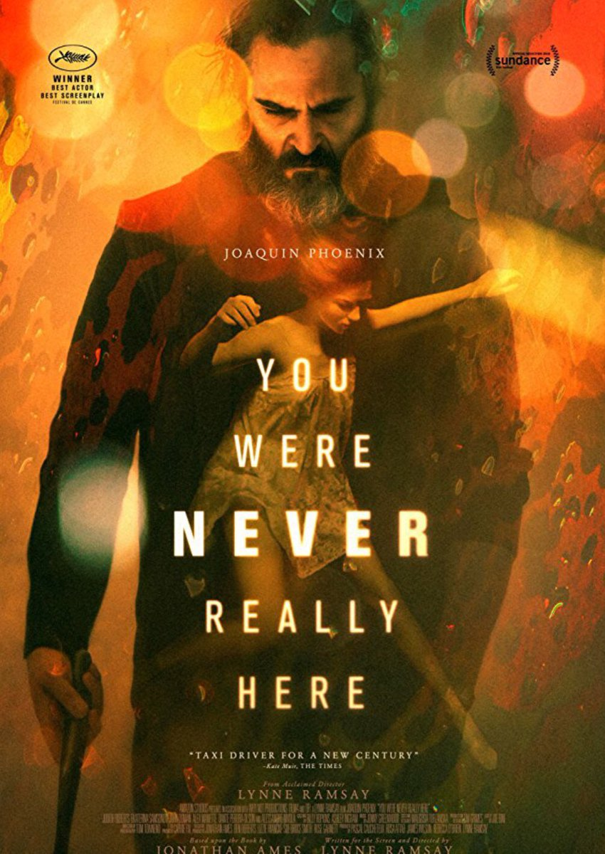 #YouWereNeverReallyHere #LynneRamsay Very strange #movie. Only stayed for #JoaquinPhoenix. https://t.co/e3A9cUWdQe