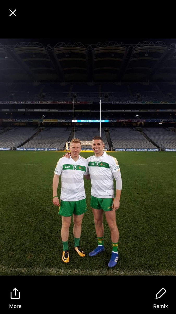 test Twitter Media - Our Club Men Anton Sullivan & Niall Darby playing for the @defenceforces tonight in @CrokePark where they bet the Gardai by a point. #autumnseries #gaa https://t.co/g5WcKtO7Ko