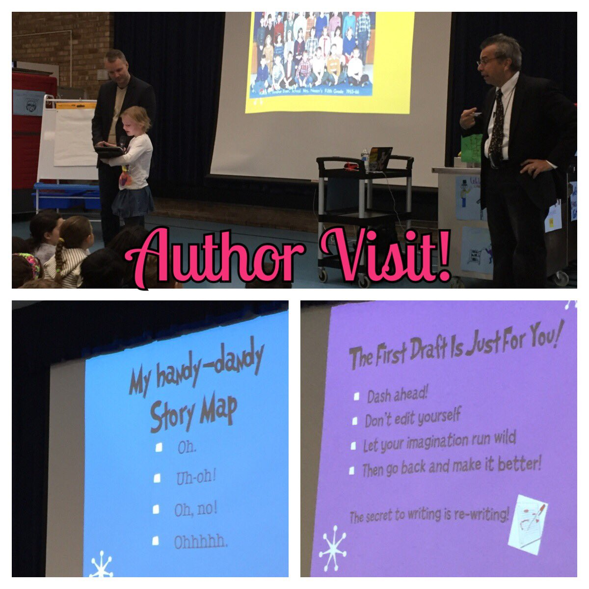 test Twitter Media - We were so engaged after our fantastic visit from author, Chris Grabenstein! We also learned many beneficial tips that will help us become better writers. #d30learns https://t.co/WDDhsZ9vkx