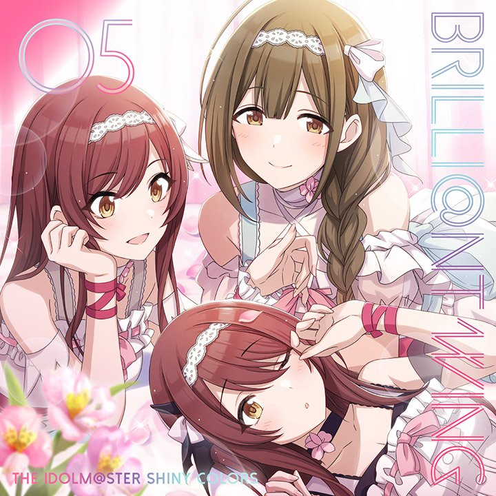 #NowPlaying ハピリリ - アルストロメリア (黒木ほの香, 前川涼子, 芝崎典子) (THE IDOLM@STER SHINY COLORS BRILLI@NT WING 05)...