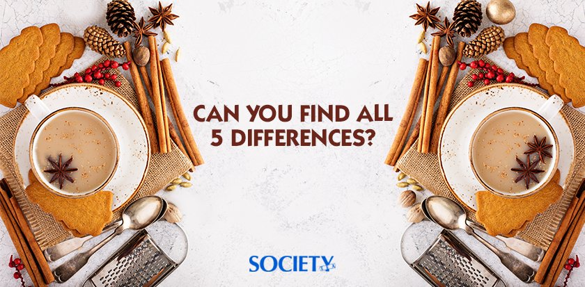 RT @SocietyTea: Think you have a sharp eye for chai? Let's see you find all 5 differences!  #BrandNewDay #SocietyTea https://t.co/7OvaKlcVI9