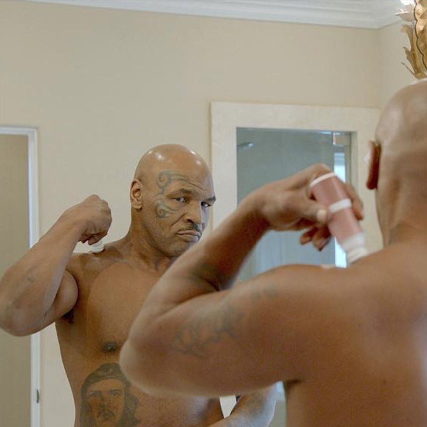 Nothing takes the pain away like @CopperGel #miketyson #coppergel #tysonranch https://t.co/28Moc0fZPq