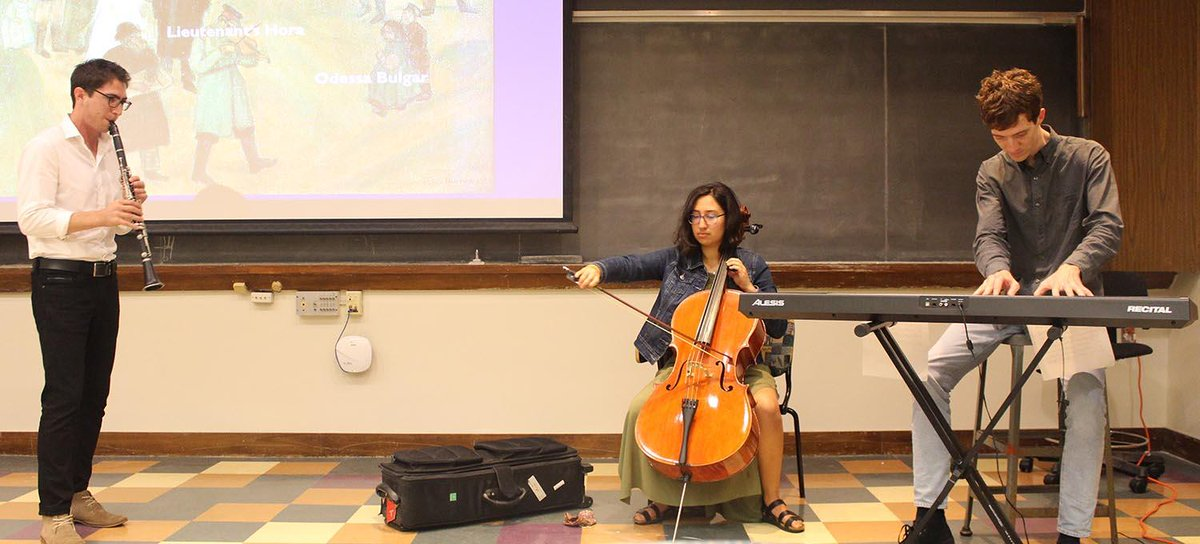 "test Twitter Media - Douglas Kiman, a PhD student in Ethnomusicology, presented a Graduate Speaker Series talk titled""Klezmorim and Klezmer Music: From Europe to the United States and Back Again."" https://t.co/VHxk1I9xeR https://t.co/ZWZLefDvCT"