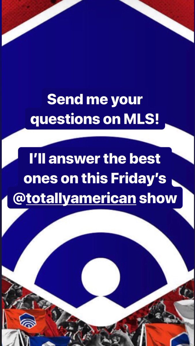 Ahh. My favorite time of year. MLS playoffs time. This should be fun. https://t.co/grq1pGdPmG