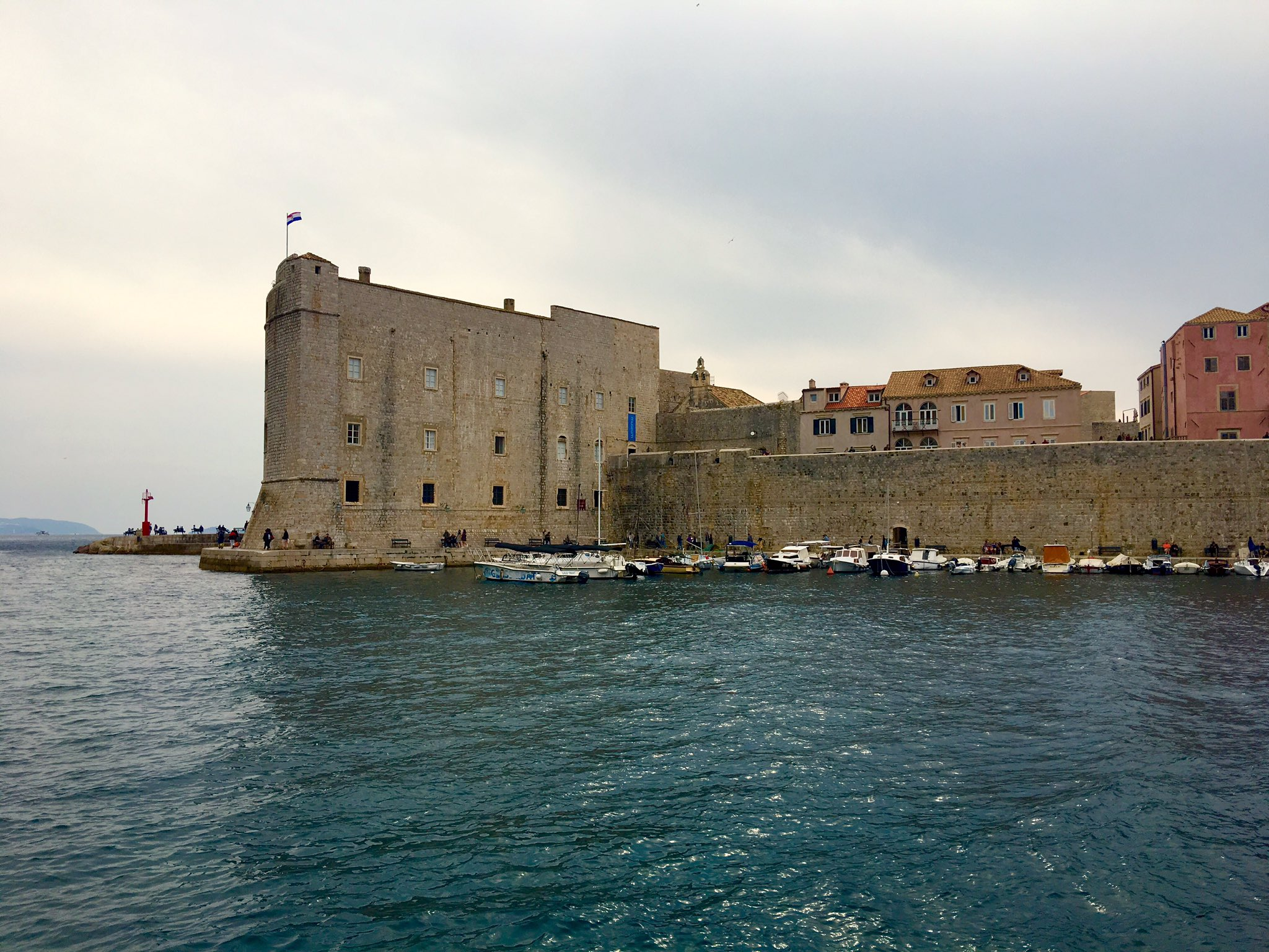 Odyssey Croatia 2018, Dubrovnik fronting the Adriatic Sea. It's known for its distinctive Old Town, encircled with massive stone walls completed in the 16th century. https://t.co/SdFT8bnuVj