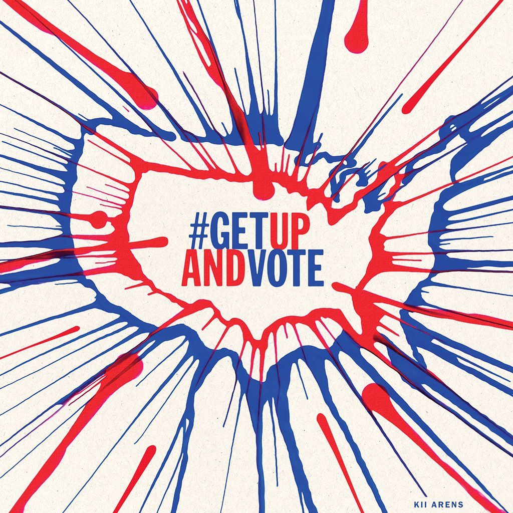 Doesn't matter what you wear just as long as you are there. #GetUpAndVOTE! https://t.co/A6Ujk07jdk