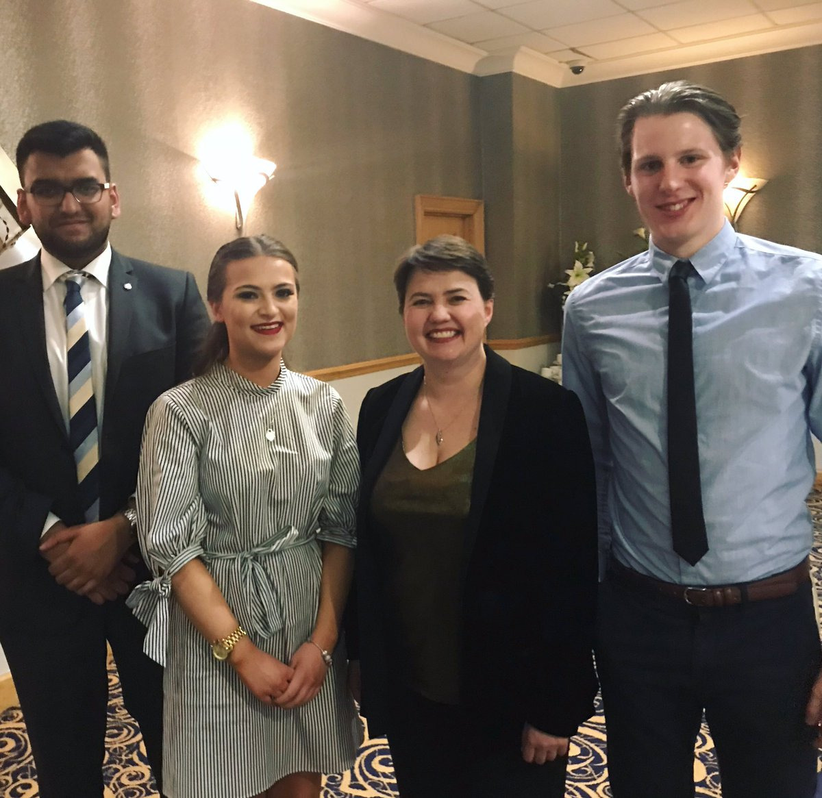 Access to loads of different events run by exterior local associations, last years dinner with Ruth Davidson😍: https://t.co/Xoj4s9tlo0