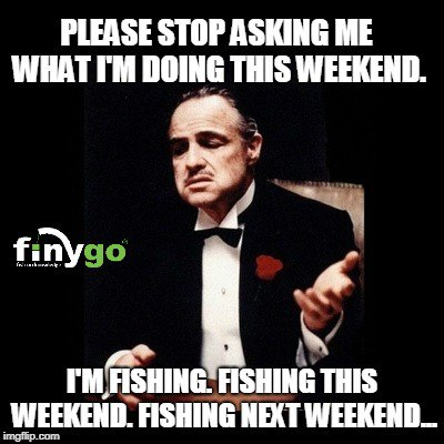 Weekend plans = 🎣. Always. <b>😂</b> #fishing #carpfishing #bassfishing https://t.co/oTubXvE7dn