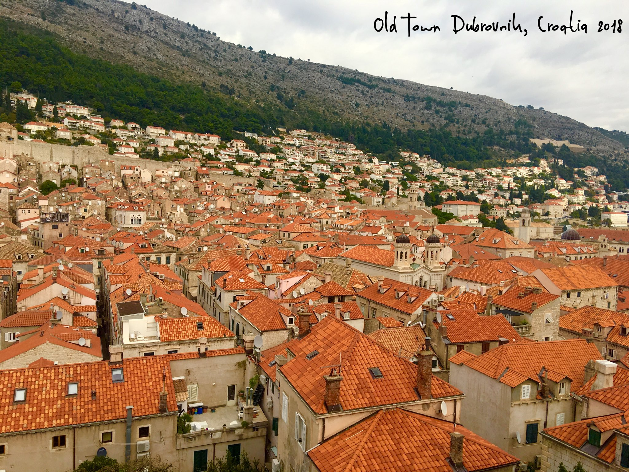 Odyssey Croatia 2018, Terra-cotta roofs of the old town. https://t.co/i1x9xHOh7H