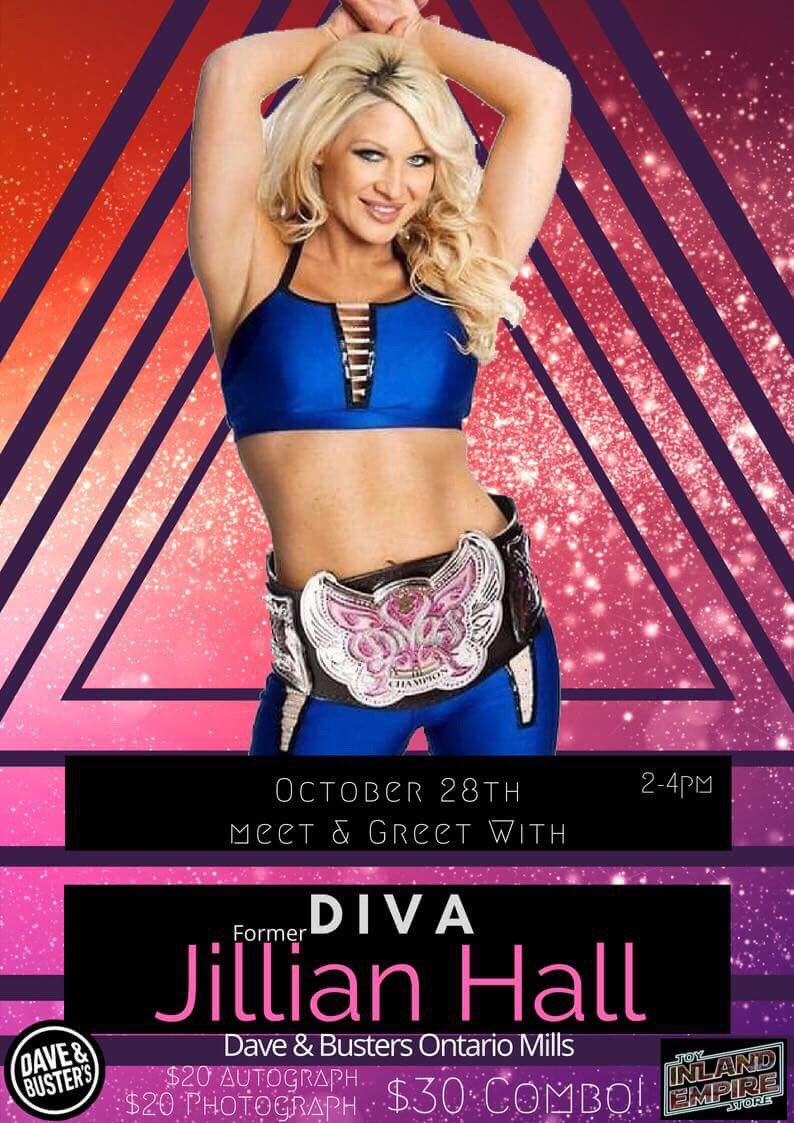 Come meet me tomorrow at Dave & Buster's in Ontario, CA 2-4 and stay for #Evolution ???? https://t.co/6WIKEQerR1